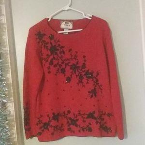 Beautiful Vintage Tiara Petites sweater size PM